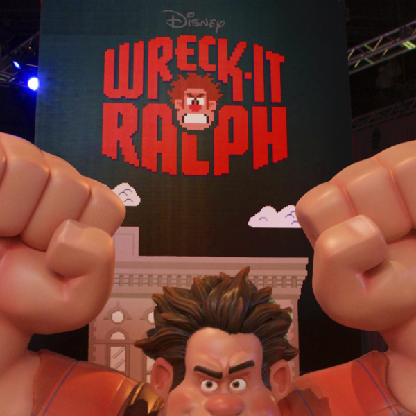 Wreck-It Ralph Logo at E3 Expo