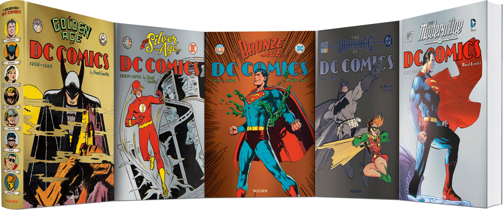 DC Comics Book Jacket Panorama