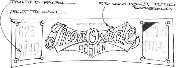 Iron Oxide Exterior Sketch