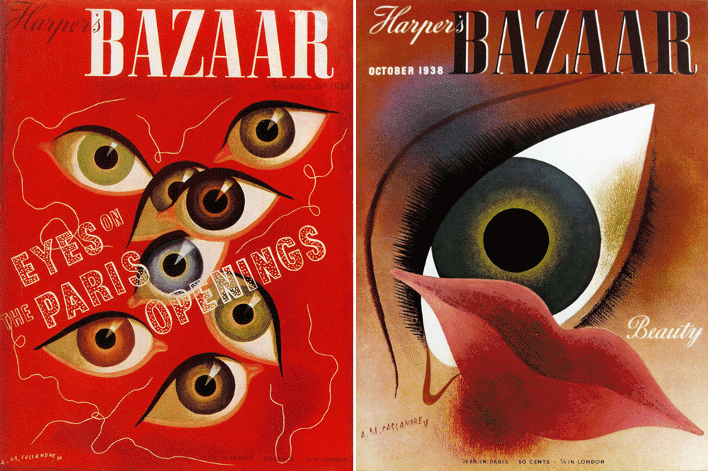 Cassandre: 2 Bazaar Covers